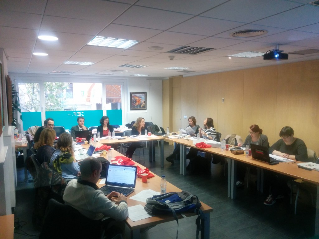 EPBE Madrid Kick Off Meeting